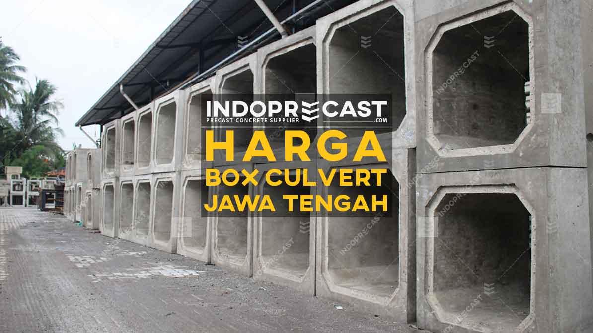 Harga Box Culvert Jawa Tengah