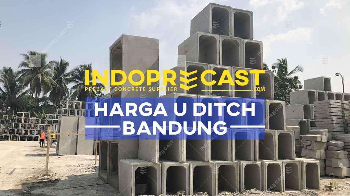 Harga U Ditch Bandung dan Cimahi