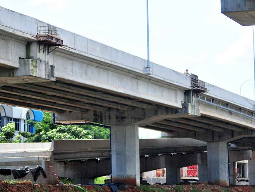 Implementasi Konstruksi Jalan Layang Sosrobahu