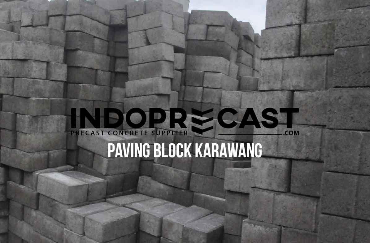 Harga Paving Block Karawang