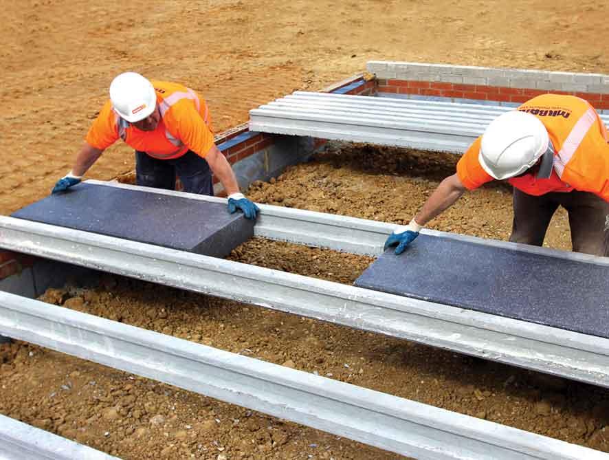 Panel Lantai Styrofoam