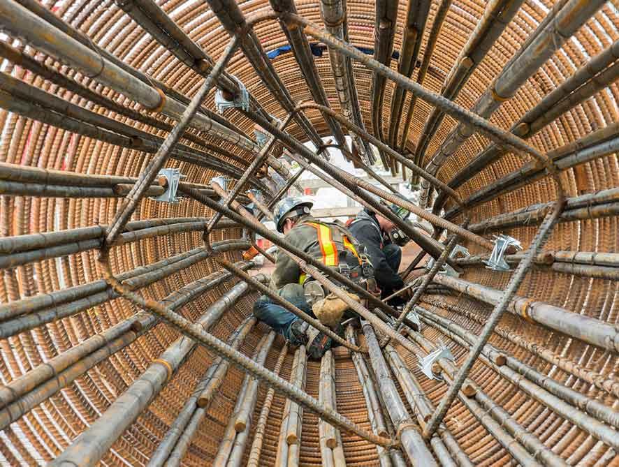 Penerapan Beton Cyclop pada Pondasi Sumuran